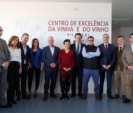 CoLab VINES&WINES recebe visita da Ministra da Agricultura